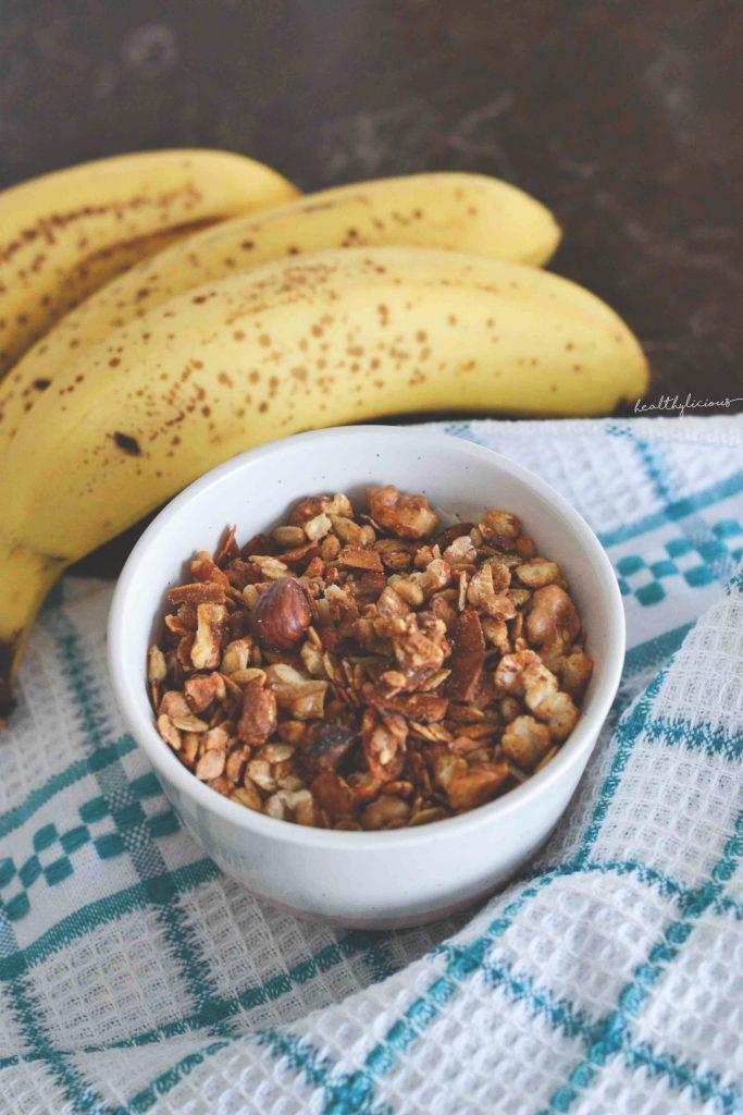 Гранола с банани