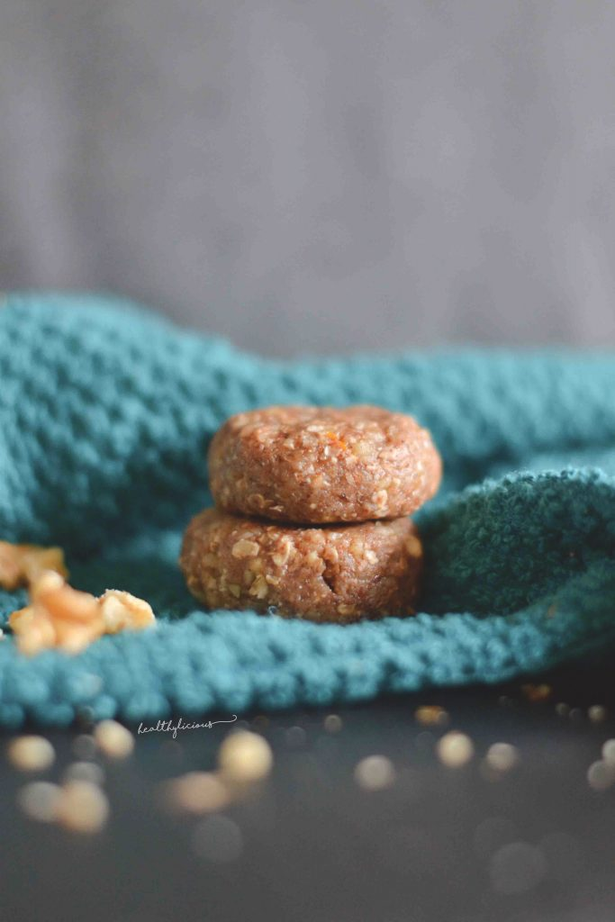 Сурови бонбони с ядки