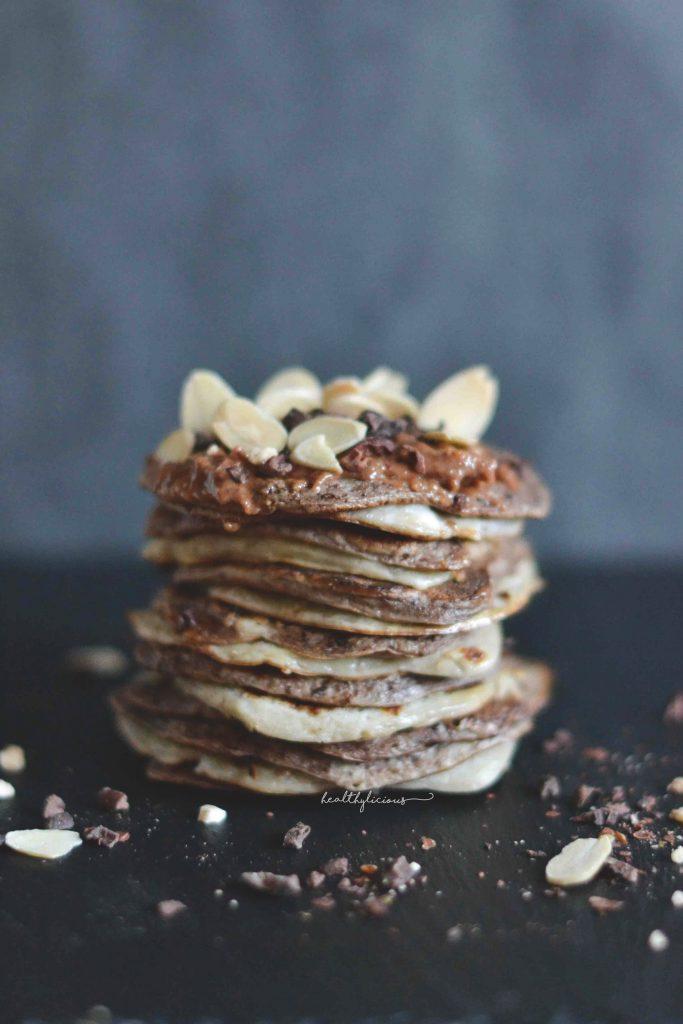 Ванилово шоколадови палачинки