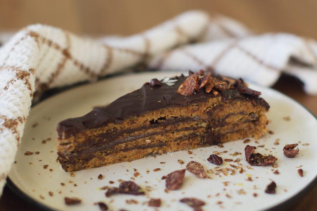Торта Гараш с шоколадов крем