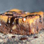 Брауни с тиква и шоколад