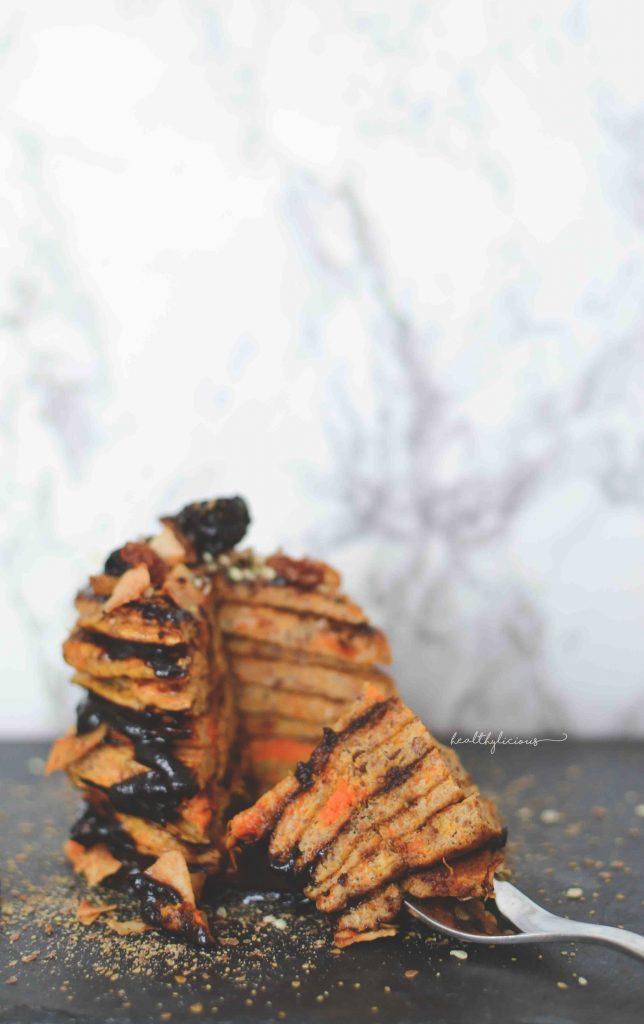 Здравословни тиквени палачинки