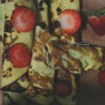 Нахутени палачинки с ягоди