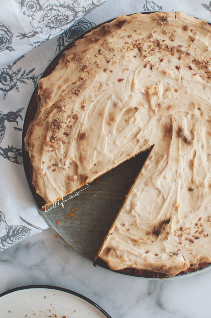 Тиквена торта с глазура