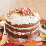 Ванилова торта с маскарпоне крем и ягоди