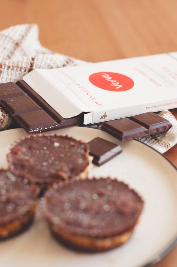 Сурови шоколадови хапки и шоколад с джинджифил Verve