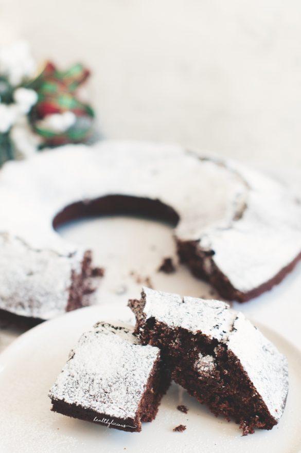Парче постен веган шоколадов кекс