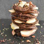 Палачинки с шоколад и круша