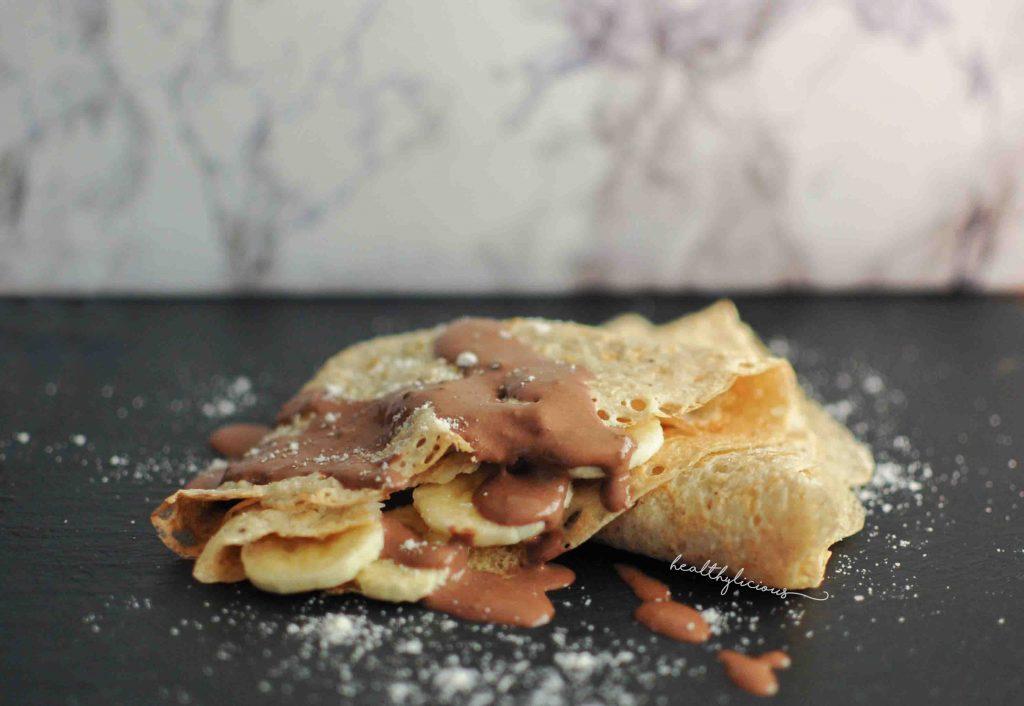 Овесени палачинки с шоколад