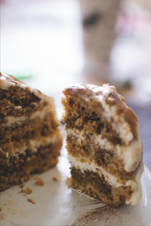 Тирамису торта парче
