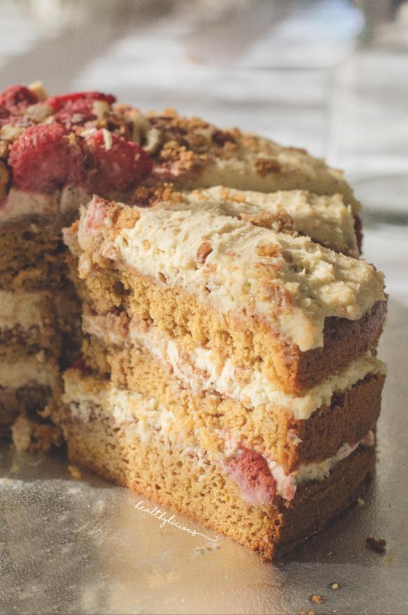 Парче ванилова торта