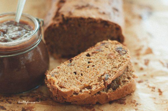 Тиквен хляб със стафиди