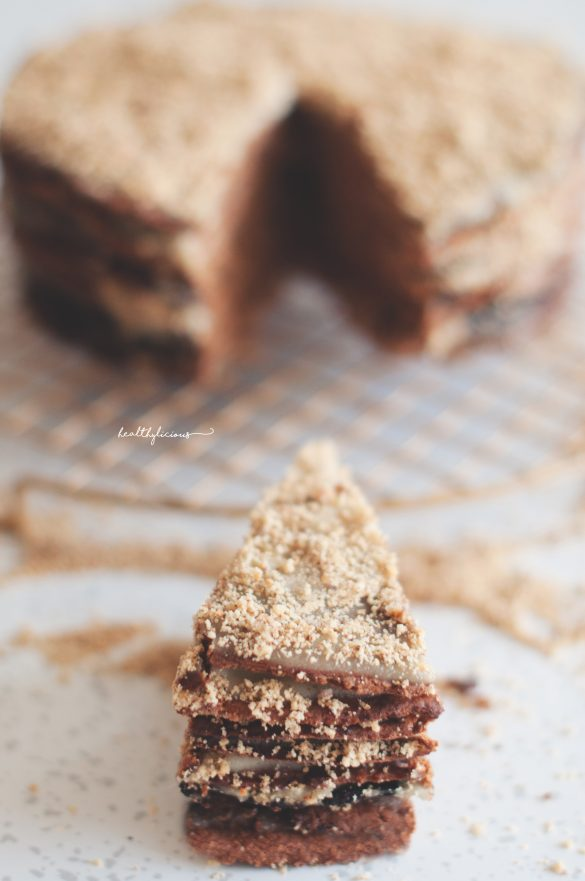 Здравословна селска торта