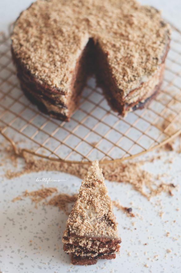 Орехова селска торта