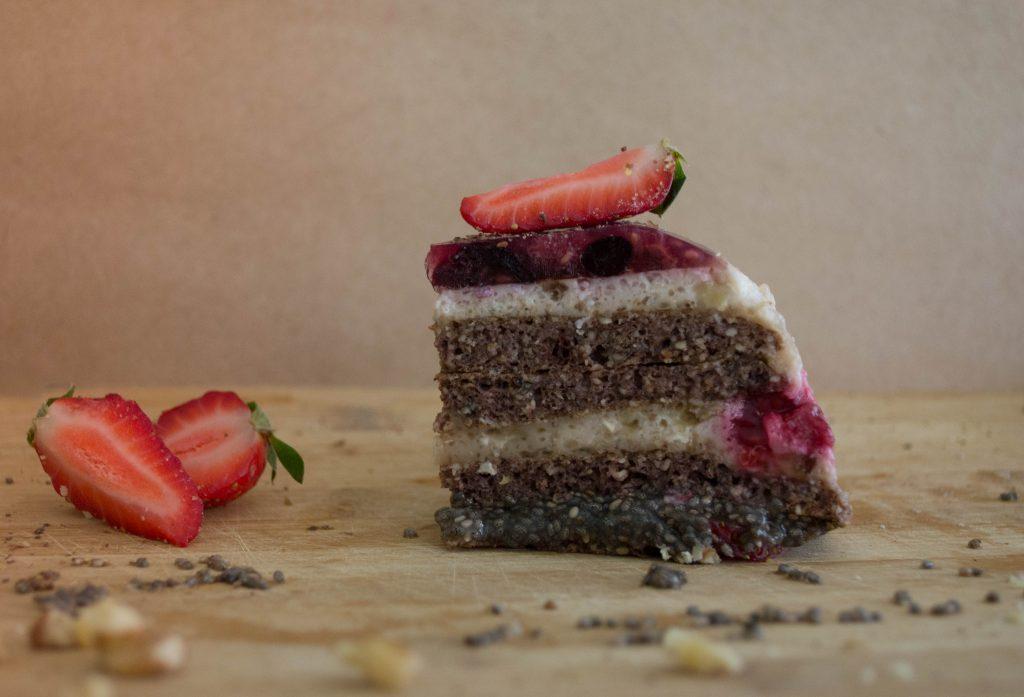 Палачинкова чия торта