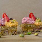 Десерт с тиква без глутен