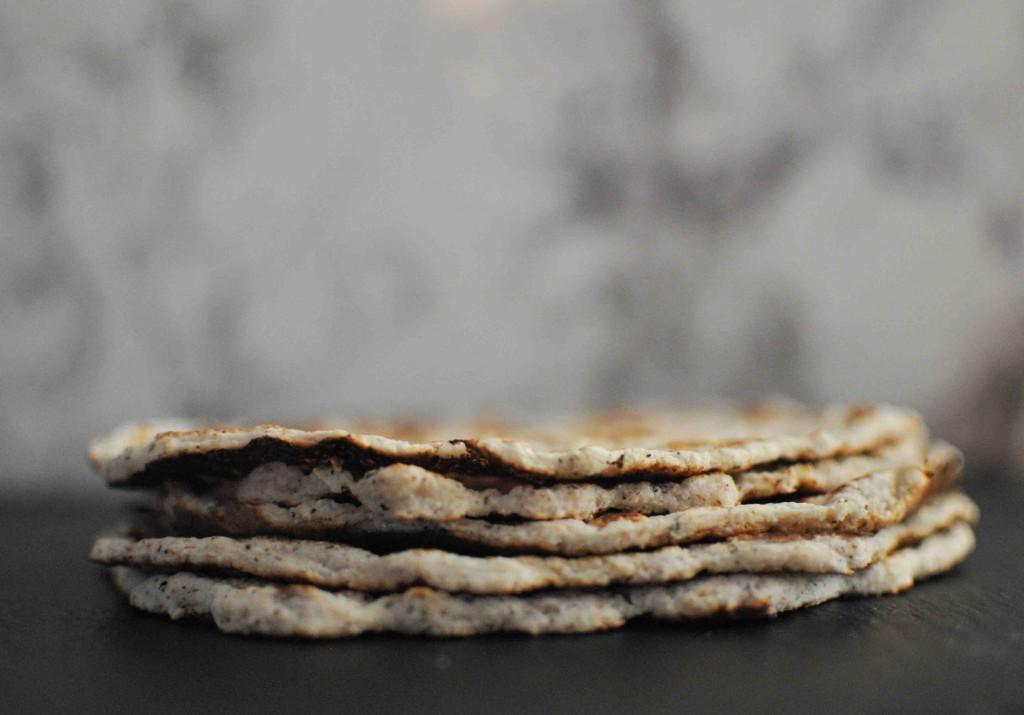 Тортили с кокосово брашно