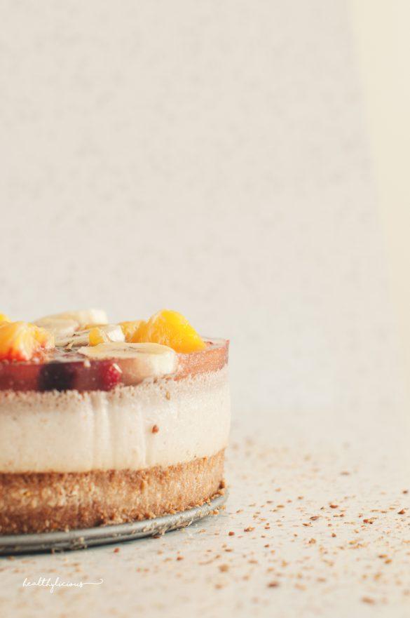 Торта със слой желе