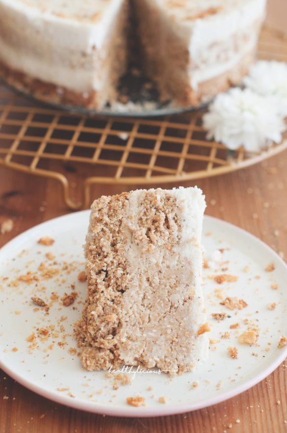 Веган кокосова торта без глутен