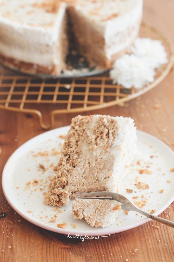Парче кокосова торта