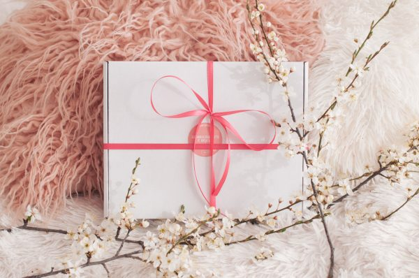Розова здравословна кутия