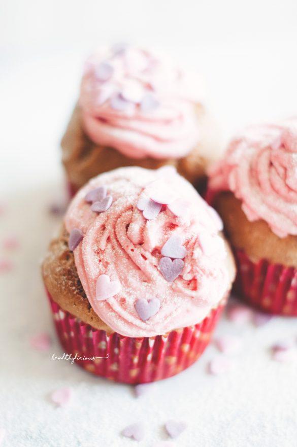 Розови мъфини
