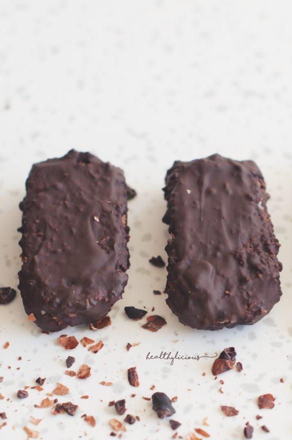 Шоколадови здравословни баунти барчета