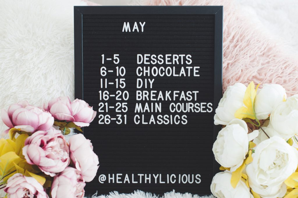 Healthylicious Challenge May 2020