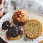 Безглутенови мъфинови хлебчета със сладко