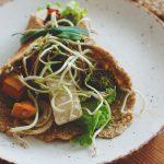 Зеленчуков дюнер с кълнове