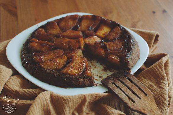 Тарт Татен с кокосова захар