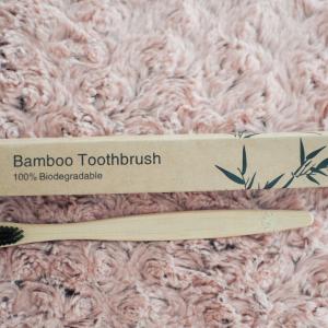 Бамбукова четка за зъби